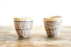 Stoneware Cup By Suzanne Sullivan