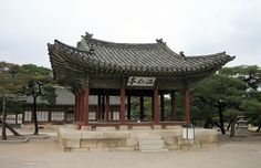 Elegant Pavilion - Changgyeonggung Palace, Seoul, South Korea