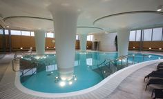 Waters at the Thermae Bath Complex can be as warm as 117 degrees and include 42 different types of minerals. (From: Photos: 12 Gorgeous Hot Springs)