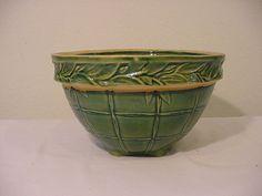 vintage mixing bowls images | vintage crock mixing bowl | VASES, POTS & BOWLS | Pinterest