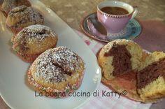 La buona cucina di Katty: Cupcake bicolore bio - Cupcake bicolor bio