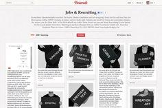 Recruiting-Kampagne: Agentur Grey sucht Personal via Pinterest