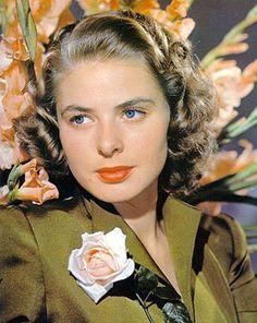 Ingrid Bergman by Edward Steichen, photographer.