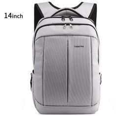 2016 New Tigernu Men Travel Bags Schoolbag Compact Black Women Backpack Mochila Shoulder Bag Backpack for 14-17 Inch Laptop Bag