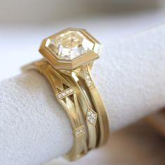 Erika Winters Fine Jewelry Mariana Bezel Engagement Ring