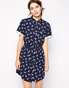 Fred Perry Bandana Shirt Dress