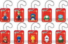Nintendo Super Mario Wii Figures in a Blister « Game Searches