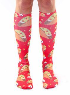 2 Pairs Womens Knee High Socks Best For Athletic Pitbull Taco Dogs Long Socks For Women