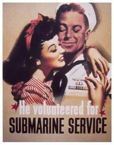 Voluntariado en submarinos.