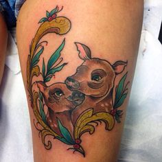 Mom and Son tattoo Biancaneve tattooer Milano