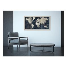 43 in w x 24 in h old world map blue by wild apple portfolio h old world map blue by wild apple portfolio framed art print world world maps and art gumiabroncs Gallery