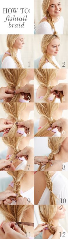 How To Make A Fish Tail Braid - Learn how to make a fish tail braid like a pro – instantly! #Aerie