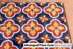 Com - Athangudi Tiles - Tile Designs Room Wall Tiles, Living Room Sofa Design, Indian Crafts, Tile Patterns, Tile Design, Invitations, Invite, Wood Crafts, House Design