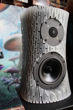 3ders.org - How to create the super cool 3D printed speakers (with lights!) | 3D Printer News  3D Printing News
