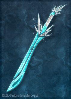 Elemental swords (Ice) by Rittik-Designs on DeviantArt