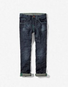 REGULAR JEANS WITH TURN-UP    $35.90