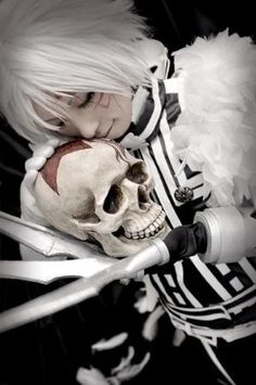 Allen Walker from D.Gray-Man by tania