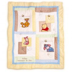 Disney Baby Winnie the Pooh & Friends 3-Piece Crib Bedding Set ... : disney baby quilts - Adamdwight.com