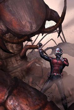 Ant-Man Larger Than Life #1 - W.B.