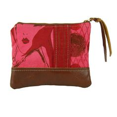 Ruby Pouch Red now featured on Fab.