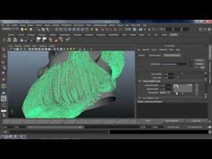▶ Maya Hair - How to Easy Make Hair in Maya 3/3 - YouTube