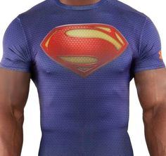 Under Armour SUPERMAN Man of Steel Compression Shirt ALTER EGO Limited Edition