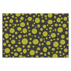 """Golden Bubbles Tissue Paper 10"""" X 15"""" Tissue Paper #zazzle #tissuepaper #giftwrap #golden #bubbles"""
