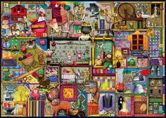 The Craft Cupboard (1000 Piece Puzzle by Ravensburger)