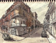 Illustration, Rob Carey.... Looks like France. Or New Orleans, to me. :D