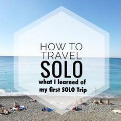 How to Travel Solo (
