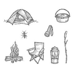 The Great Outdoors Clear-Mount Stamp Set (stampin' up)