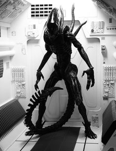 "Xenomorph from the 1979 Ridley Scott film ""Alien."""