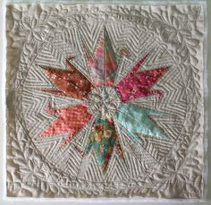 Crane Star.  Love the colours and the quilting is exquisite.