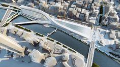 Big Names on Flinders Street Station Shortlist - Public Voting Now Open | Finalist: Zaha Hadid Architecture & BVN Architecture | Bustler
