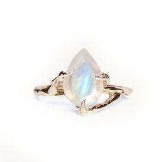 Pear Moonstone  II - 9ct  — HLSK Jewellery