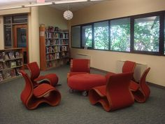 Teen Zone, Seating area Ocean County, NJ | by informationgoddess29 Teen Library Space, County Library, Wingback Chair, The Expanse, Accent Chairs, Toms River, Ocean, Spaces, Furniture
