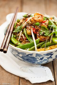 Speedy Sesame Shrimp Stir Fry