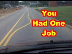 Compilation of people who had one job to do and failed miserably. One Job Meme, Job Memes, Job Humor, Epic Fail Pictures, Funny Pictures, Construction Fails, Job Fails, Stupid Funny, Funny Drunk