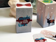 imprimible: cajas y etiquetas made with love| Mi Low Cost