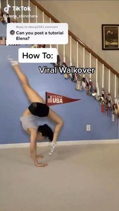 How To Do Gymnastics, Gymnastics For Beginners, Gymnastics Tricks, Gymnastics Skills, Amazing Gymnastics, Gym Workout For Beginners, Gymnastics Stretches, Acrobatic Gymnastics, Gymnastics Workout
