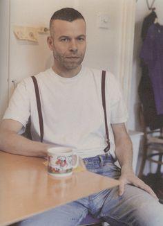 Mr. Wolfgang Tillmans shot by Alasdair McLellan for Fantastic Man Spring/ Summer 2010   Editor Paul Flynn   models.com