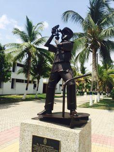 Homenaje a los Guardiamarina y Alféreces de la ENAP. En la Escuela Naval Almirante Padilla (ENAP) de la Armada Nacional de Colombia.