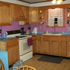 Best budget redo before and afters 2011 a thrifty kitchen for 1990 kitchen cabinets