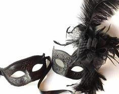 Masquerade Mask Women, Couples Masquerade Mask from USA by HigginsCreek Couples Masquerade Masks, Masquerade Ball, Costume Birthday Parties, Carnival Festival, Hand Designs, Usa, Women, Masquerade Prom, U.s. States
