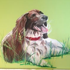 spaniel painting