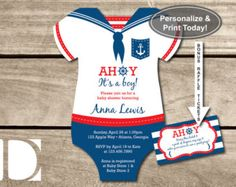 baby shower nautical boy – Etsy MX