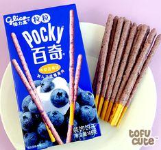 Japanese Pocky   home asian snacks pocky sticks glico pocky tsubu tsubu blueberry
