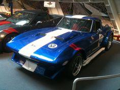 A Grand Sport Corvette at the National Corvette Museum.