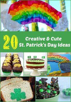 20 Creative & Cute St. Patrick's Day Ideas