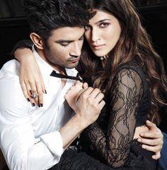 Sushant Singh RAJPUT and kriti sanon hot photoshoot. Indian Celebrities, Bollywood Celebrities, Bollywood Actress, Bollywood Fashion, Beautiful Celebrities, Bollywood Couples, Bollywood Stars, Cute Celebrity Couples, Cute Couples